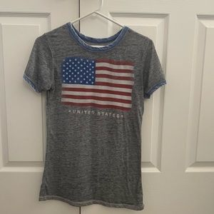 Vintage inspired United States T-shirt